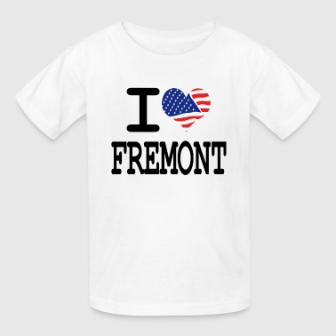 i love fremont - Kids' T-Shirt