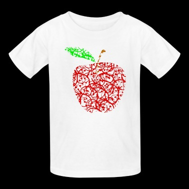 apple2 - Kids' T-Shirt