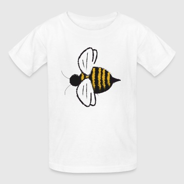 Cute Bumble Bee Fly Insect Honey Bug Gift Present - Kids' T-Shirt