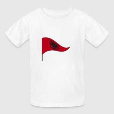 Albania Tirana Flag Banner Flags Ensigns - Kids' T-Shirt