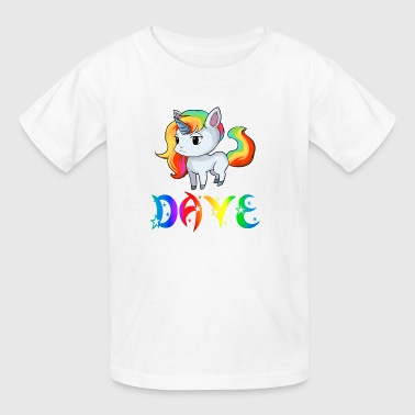 Dave Unicorn - Kids' T-Shirt