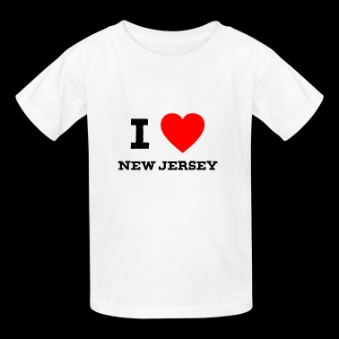 i love New Jersey - Kids' T-Shirt
