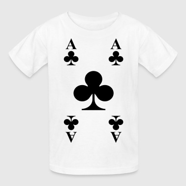 Ace of clubs - Kids' T-Shirt