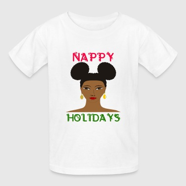 Nappy Holidays Puffs - Kids' T-Shirt