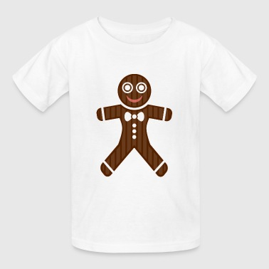 gingerbread man - Kids' T-Shirt