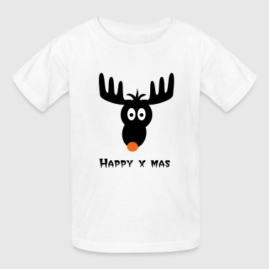 Rudolph The Red Nosed Reindeer rudolph, red nose, reindeer - Kids' T-Shirt