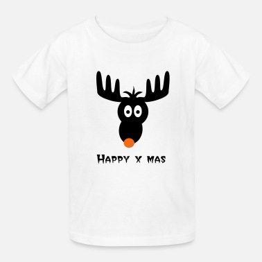 Rudolph The Red Nose Reindeer rudolph, red nose, reindeer - Kids' T-Shirt
