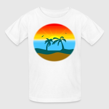 sunset/sunrise - Kids' T-Shirt