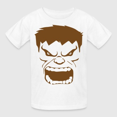 Funny Hulk face T-shirts for kids - Kids' T-Shirt
