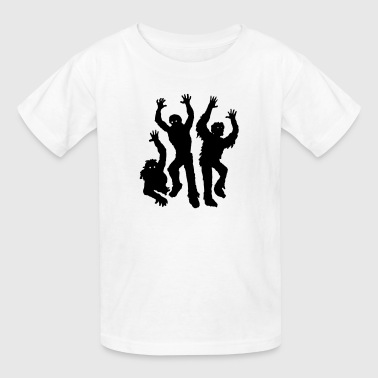Scary Silhouette Zombies - Kids' T-Shirt
