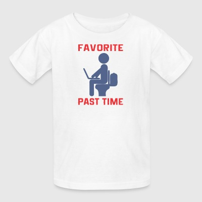 Favorite Past Time - Kids' T-Shirt