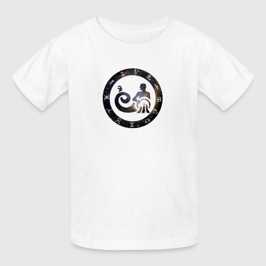 aquarius horoscope januar birthday astrology previ - Kids' T-Shirt