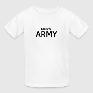 merch army - Kids' T-Shirt