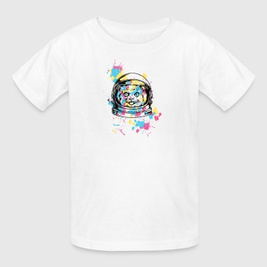 colorful_astranout_cat - Kids' T-Shirt