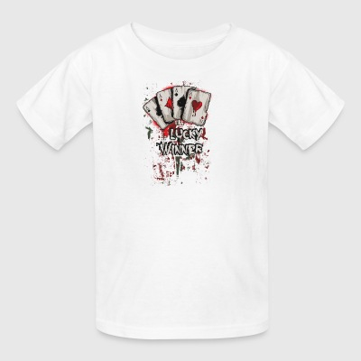Four Aces Poker Hand - Kids' T-Shirt