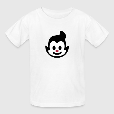 Baby Cartoon Smiley Face - Kids' T-Shirt