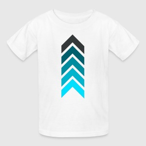Blue arrows - Kids' T-Shirt