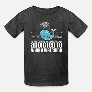 Whale Whale Watching Addict - Kids' T-Shirt