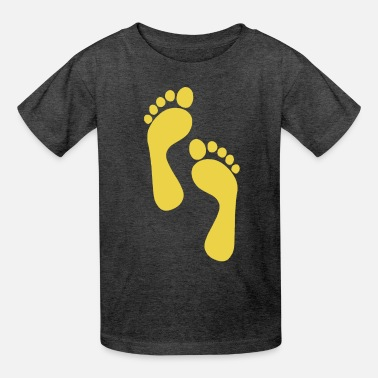 Foot Trace - Kids' T-Shirt