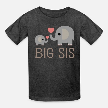 The World/'s Best Big Sister Girls Pink T-Shirt Going To Be A Big Sis Sis Again