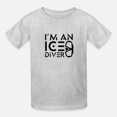 Proud Ice Diving Ice Diver - Kids' T-Shirt