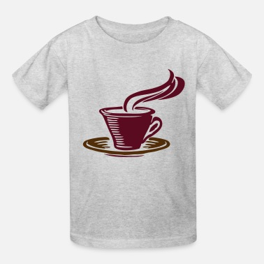 Warm Coffee mug. - Kids' T-Shirt