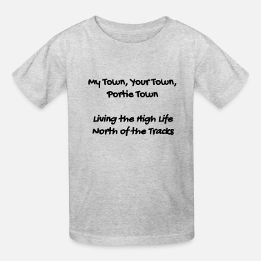 Town Hall Portie Town Shirt - My Town Your Town Portie Town - Kids' T-Shirt