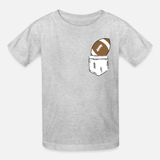 American Football T-Shirts - Football - Kids' T-Shirt heather gray
