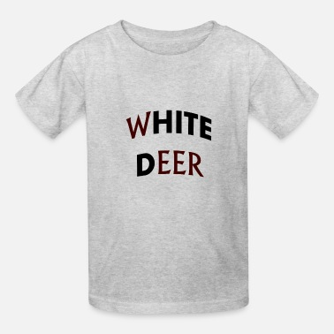 white deer - Kids' T-Shirt