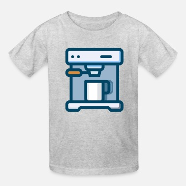 Cappuccino cappuccino machine - Kids' T-Shirt