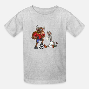 Bull Spain Iran - Kids' T-Shirt
