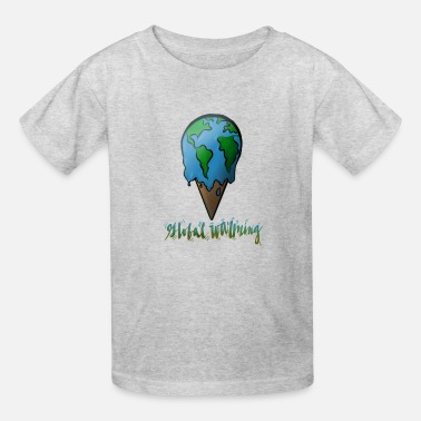 Warming Global Warming - Kids' T-Shirt