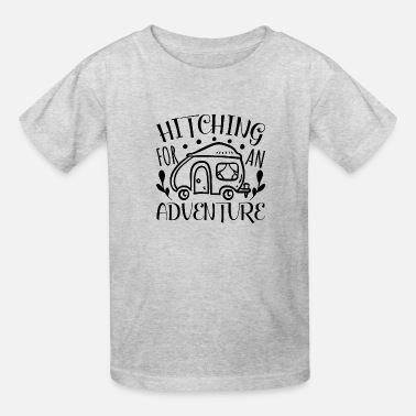 Equitation Hitching for adventure - Kids' T-Shirt