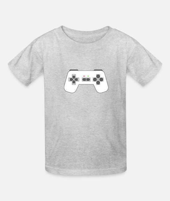 Gamepad T-Shirts - Game Controller - Kids' T-Shirt heather gray