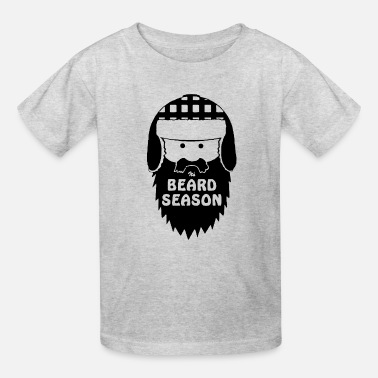 Winter Beard Season T Shirt Funny Beard T Shirt Cool Bear - Kids' T-Shirt