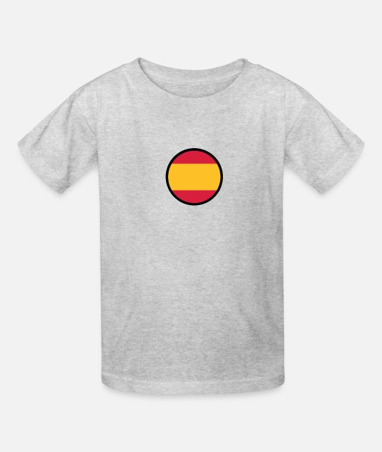 Don Quijote T-Shirts - Marked By Spain - Kids' T-Shirt heather gray
