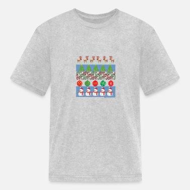 da84b179d Ugly Christmas Shirt Girls' Ruffle T-Shirt | Spreadshirt