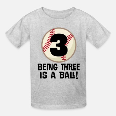 3rd Birthday 3//4 Sleeve Baseball Jersey Toddler Shirt 3 Years of Being Awesome