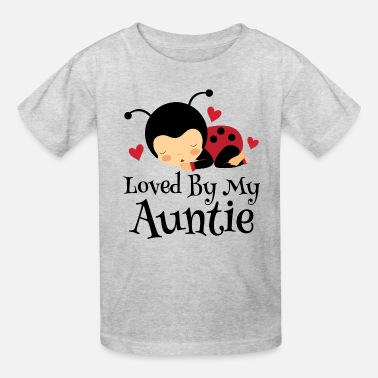 Baby Niece Loved By Auntie Gift - Kids' T-Shirt