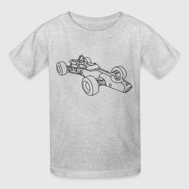 Racecar / racing car - Kids' T-Shirt
