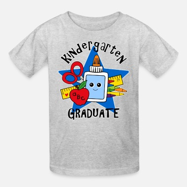 Grad School School Supplies Kindergarten Grad - Kids' T-Shirt