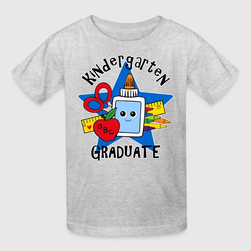 School Supplies Kindergarten Grad - Kids' T-Shirt