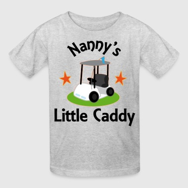 Nanny Little Golf Caddy - Kids' T-Shirt