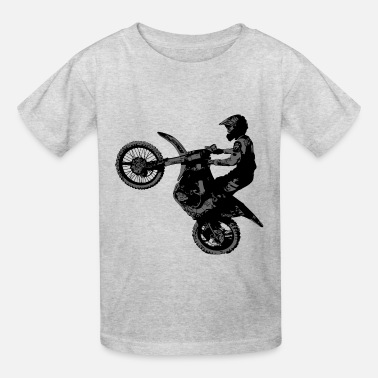 Bike Dirt Bike Racer - Kids' T-Shirt