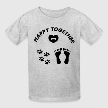 happy together - Kids' T-Shirt