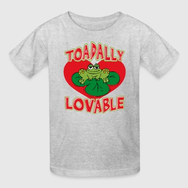 Toadally Lovable - Kids' T-Shirt