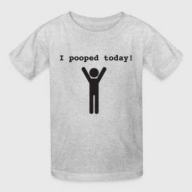 pooped - Kids' T-Shirt