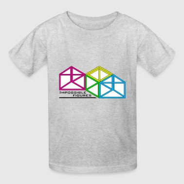 impossible figures - Kids' T-Shirt