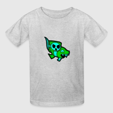 ship GD(geometry dash) - Kids' T-Shirt
