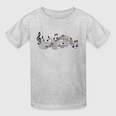 Trumpet Jazz Instrument T-shirt - Kids' T-Shirt